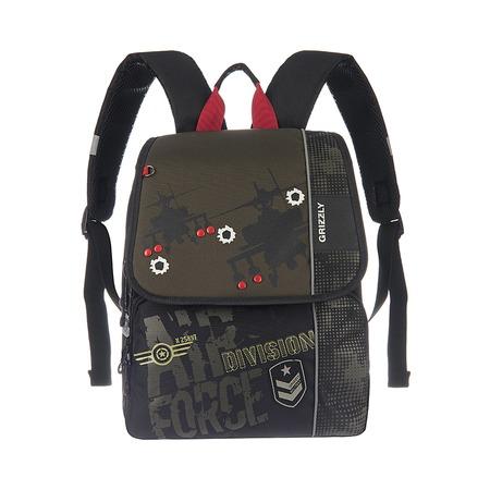 Купить Рюкзак школьный Grizzly RA-671-1/2