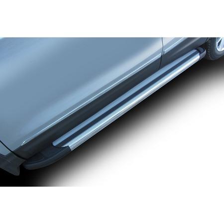 Купить Комплект защиты штатных порогов Arbori Luxe 1700 для Nissan Qashqai, 2014