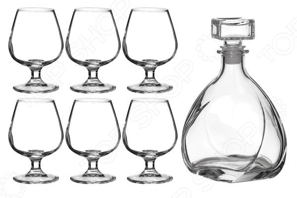 Набор для крепких напитков: штоф и рюмки Franco 316-856 наборы для крепких напитков marquis коньячный набор букет