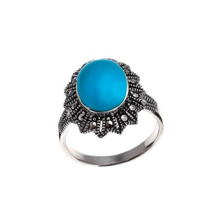 Купить Кольцо «Небесная рапсодия» MAR-015-TQ
