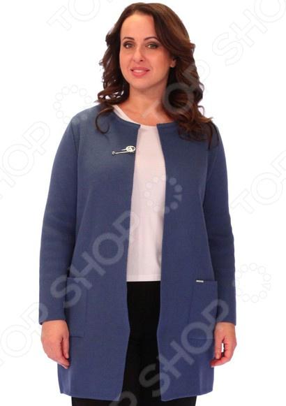 Кардиган Milana Style «Блеск». Цвет: синий