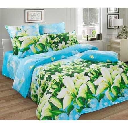Купить Комплект постельного белья Диана «Лилии» 4255. Евро