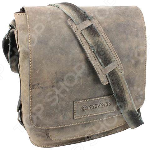 Сумка на плечо Wenger W16-03 сумка планшет wenger stonehide w16 01