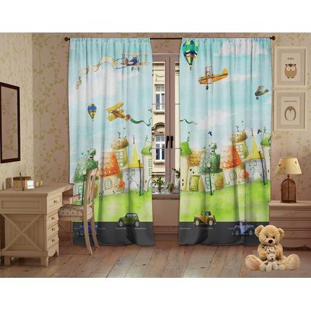 Купить Фотошторы детские ТамиТекс «Кукольные домики»