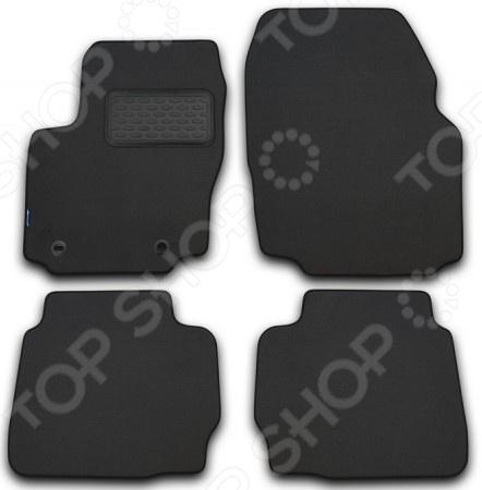 Комплект ковриков в салон автомобиля Novline-Autofamily Nissan Murano 2008 внедорожник. Цвет: черный