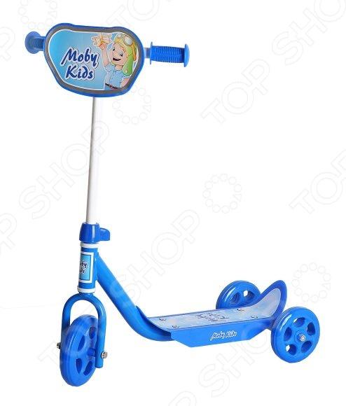 Самокат трехколесный Moby Kids «Мечта» 64638 самокат трехколесный moby kids мечта 64637