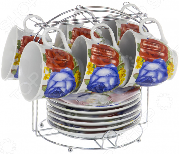 Набор чайный OlAff Metal Stand DL-F6MS-197 цена