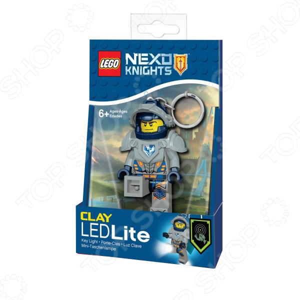 Брелок-фонарик LEGO Clay