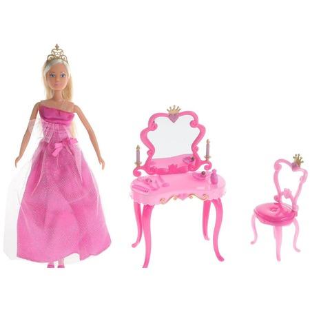 Купить Кукла с аксессуарами Simba «Штеффи-принцесса + столик». В ассортименте
