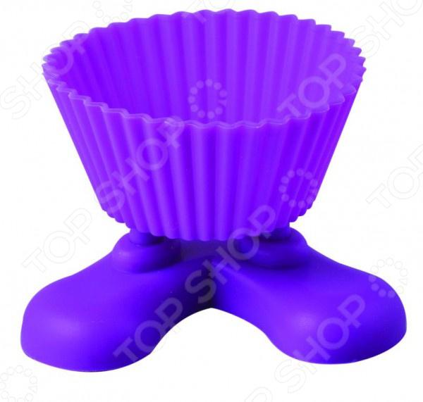 Форма для выпечки Regent Silicone Маффин на ножках посуда кухонная