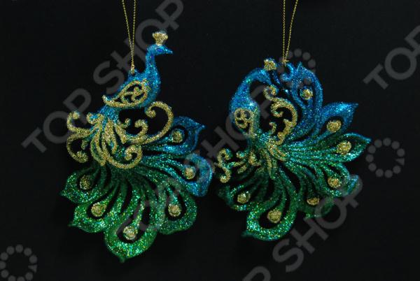 Zakazat.ru: Новогоднее украшение Crystal Deco «Павлин». В ассортименте