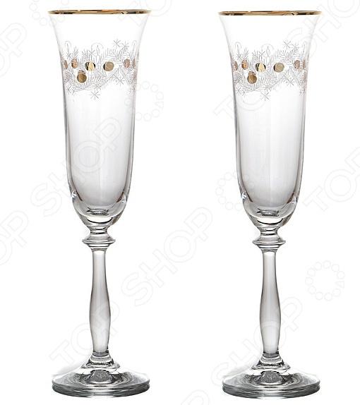 Набор бокалов Bohemia Crystal «Рождественский» набор бокалов для бренди коралл 40600 q8105 400 анжела