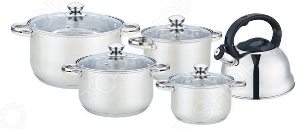 Набор посуды Bekker BK-2595 Jumbo кастрюли bekker кастрюля