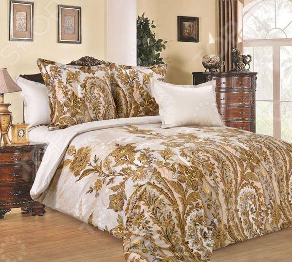 цена Комплект постельного белья Королевское Искушение «Музей». Тип ткани: сатин онлайн в 2017 году