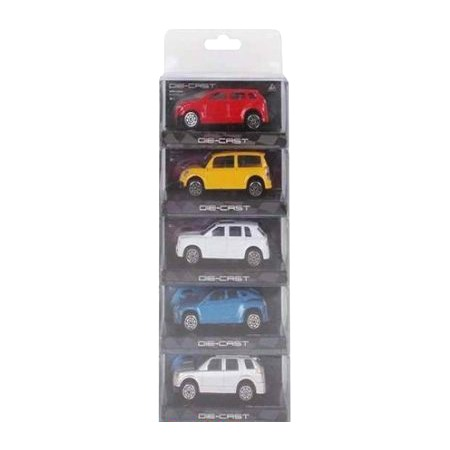 Купить Набор машинок игрушечных MSN Toys 5138997
