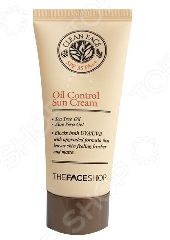 Крем для лица солнцезащитный THE FACE SHOP Clean Face SPF35 какой крем для лица в индии