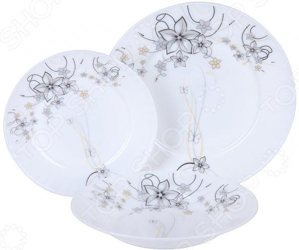 Набор столовой посуды Rosenberg RGC-100104 набор столовой посуды rosenberg rgc 100107