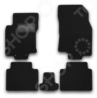 Комплект ковриков в салон автомобиля Klever Nissan X-Trail 2014 Premium klever nissan sentra 2014 econom