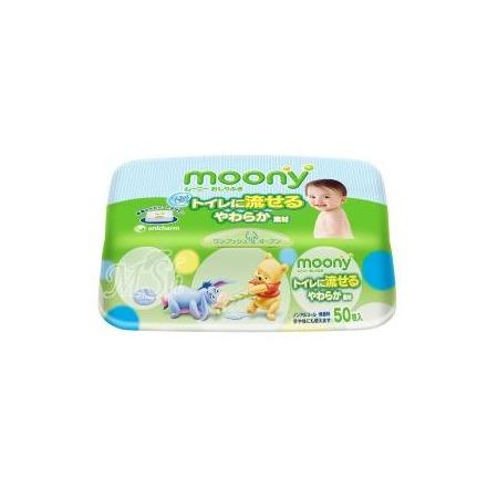 Купить Влажные гигиенические салфетки для детей MOONY 4903111-182435