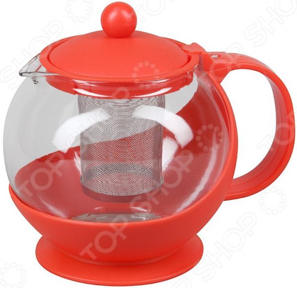 Чайник заварочный Rosenberg «Круг» чайник заварочный rosenberg rgl 250019 1 1l