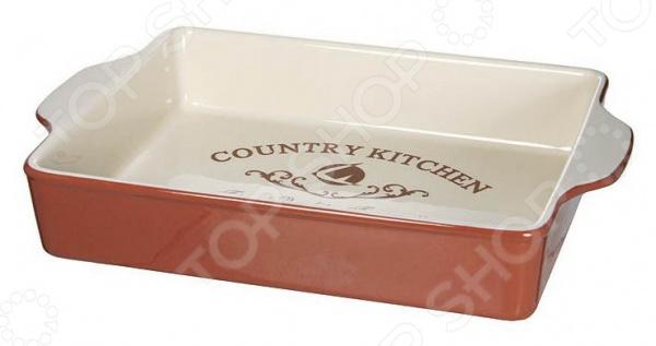Форма для выпечки прямоугольная Terracotta «Кухня в стиле Кантри» форма для выпекания керамика kitchenaid набор kblr02mbac 2шт по 0 45л