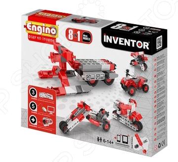 Конструктор-игрушка Engino Pico Builds / INVENTOR PB22 «Мотоциклы» конструкторы engino pico builds inventor мотоциклы 8 в 1