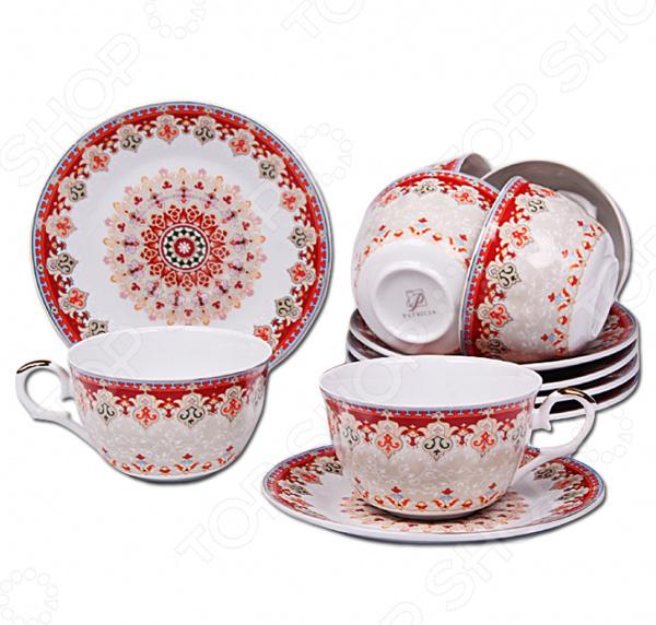 Чайный набор Patricia IM56-1722 конфетница patricia диаметр 24 см im56 0120