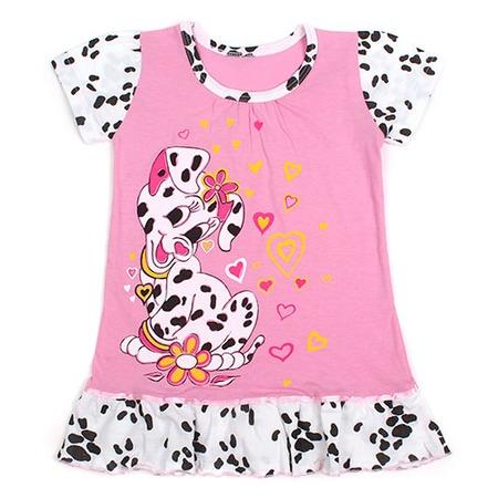 Купить Сорочка ночная детская Русь ЯВ121270. Цвет: розовый