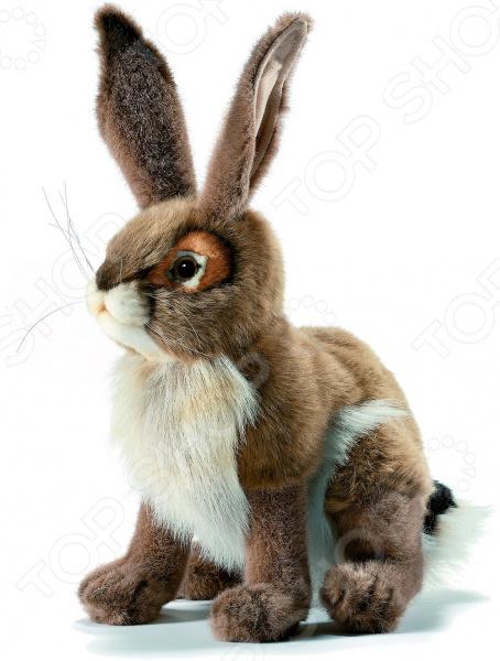Мягкая игрушка Hansa «Чернохвостый заяц» 3584 hansa мягкая игрушка чернохвостый заяц 30 см