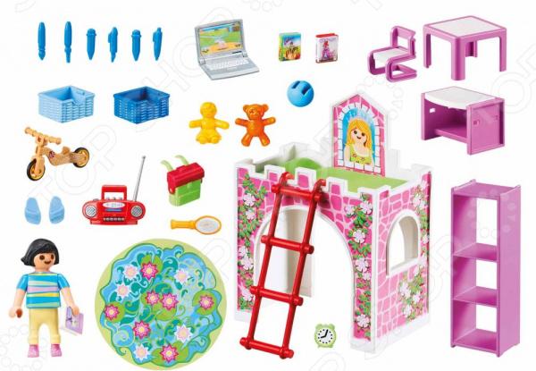 Игровой набор Playmobil «Кукольный дом: Детская комната» playmobil игровой набор кукольный дом жилая комната