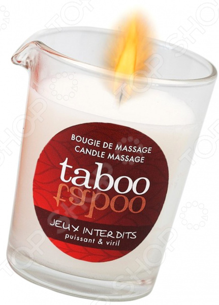 Масло массажное для мужчин Taboo Jeux interdits«Запрещенные игры»