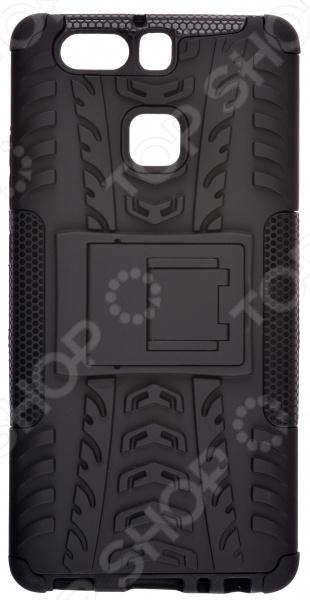 Чехол защитный skinBOX Huawei P9 huawei prodala 10 mln flagmanov p9 i p9 plus vsego 140 mln telefonov