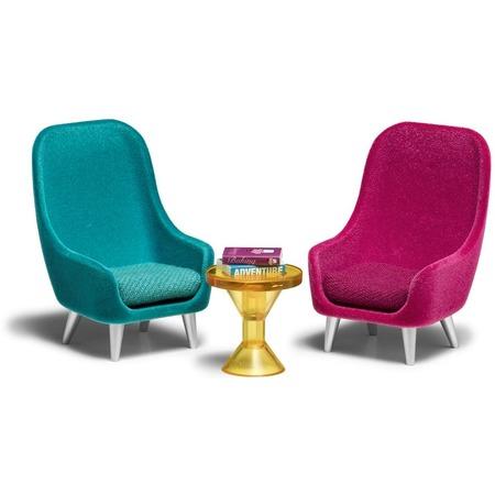 Купить Комплект аксессуаров для кукольного домика Lundby «Кресла»