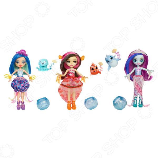 Кукла Mattel Enchantimals «Морские подружки с друзьями». В ассортименте