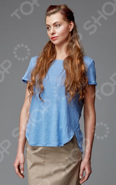 Блуза Milliner 1726102. Цвет: голубой