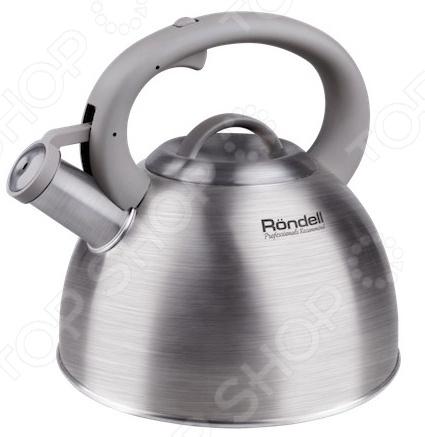 Чайник со свистком Rondell RDS-434 чайник geste 2 л со свистком гранатовый rds 361 rondell
