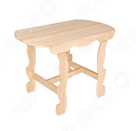 Стол с фигурными ножками Банные штучки 32440