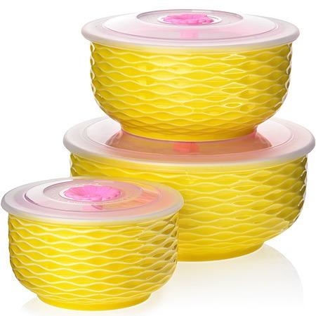 Купить Набор керамических контейнеров Loraine. Серия: геометрия
