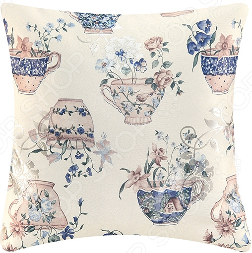 Подушка декоративная EL Casa «Натюрморт синий»