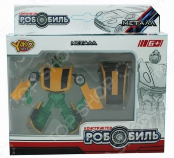 """Робот-трансформер Yako """"2 в 1"""" 1724419"""