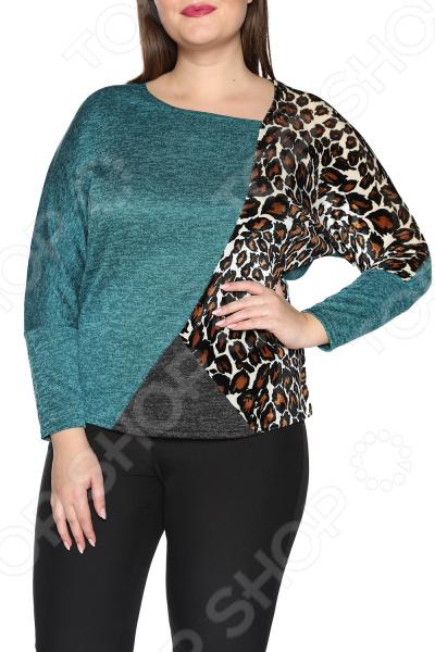 Блуза Pretty Woman «Фаворитка». Цвет: зеленый блуза pretty woman волшебный взгляд цвет зеленый