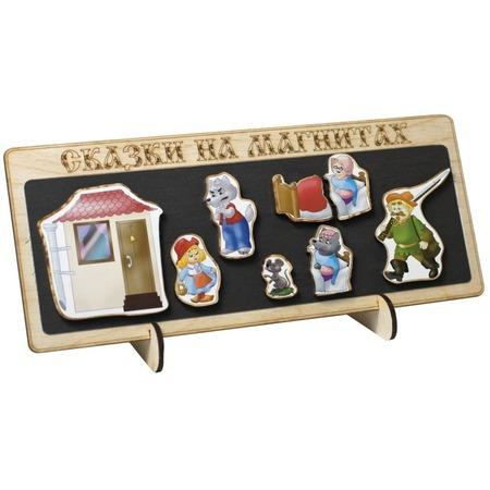 Купить Доска магнитная для ребенка БЭМБИ «Сказки на магнитах. Красная шапочка»