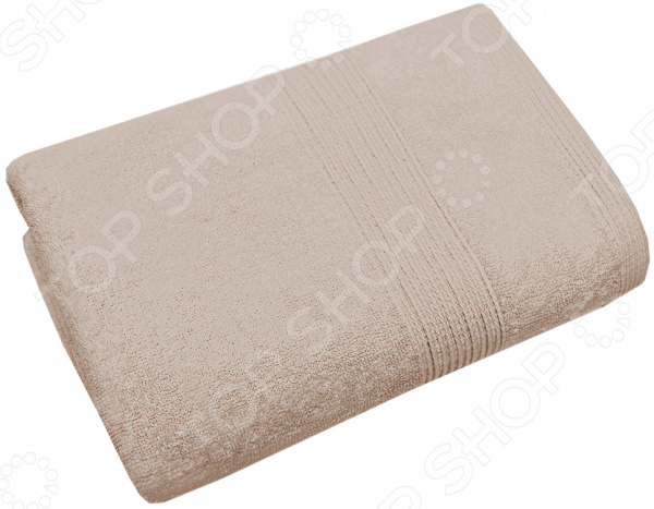 Полотенце махровое Василиса «Конфетти». Цвет: кремовый