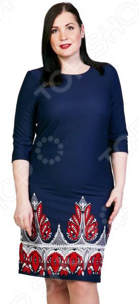 Платье Лауме-Лайн «Коронованная особа». Цвет: синий платье лауме стиль райский сад цвет синий