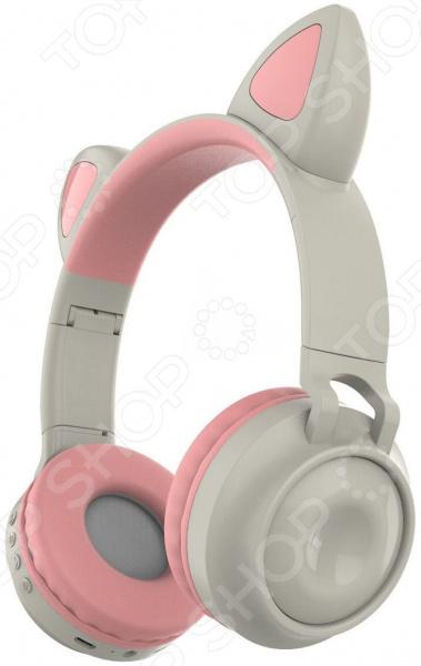 Наушники накладные беспроводные детские Ricotio ZW-028 Cat Ear
