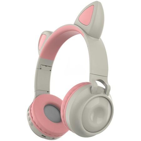 Купить Наушники накладные беспроводные детские Ricotio ZW-028 Cat Ear. В ассортименте