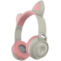 Наушники накладные беспроводные детские Ricotio ZW-028 Cat Ear. В ассортименте