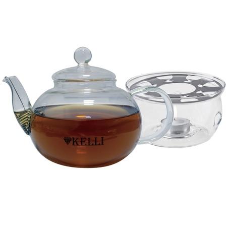 Купить Чайник заварочный на подставке Kelli KL-3093