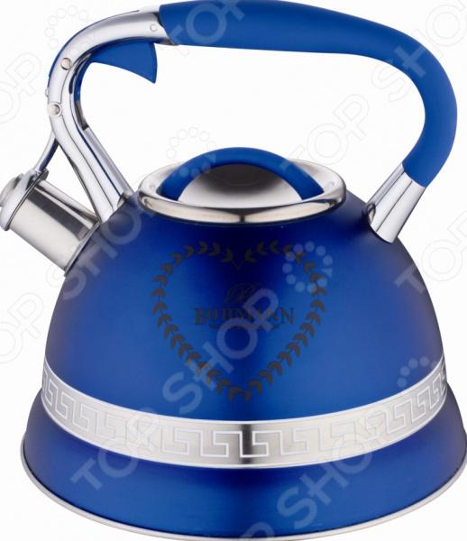 Чайник со свистком Bohmann BH-9911. В ассортименте