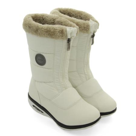Дутики снежные Walkmaxx. Цвет: белый